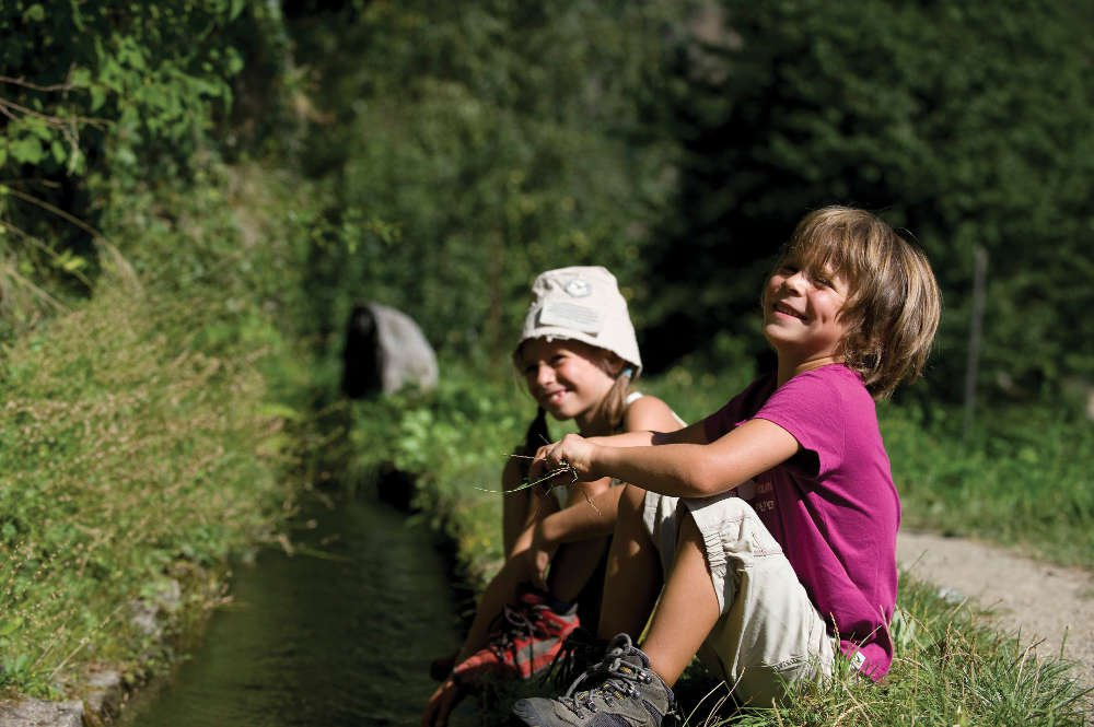 Leisure activities for children in the mountains of the Isarco Valley
